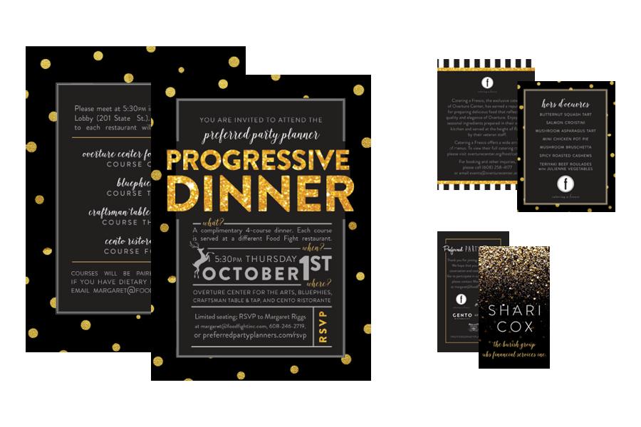 Margaret Riggs Design: Progressive Dinner Event